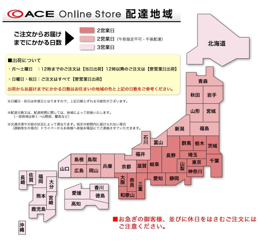 ACE Online Store 配達地域