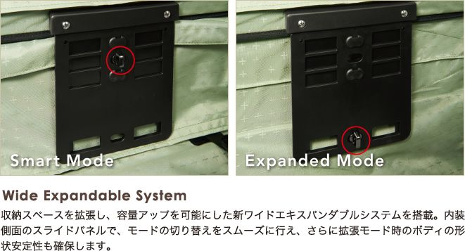 Wide Expandable System