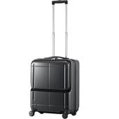 ≪プロテカ マックスパスH2 ≫【機内持込最大容量】スーツケースにポケット!◇2-3泊用トローリーバッグ 40リットル 02651/02651-02