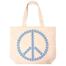 "≪定価より40%オフ!≫Canvas Tote ""World Peace"" / 50134-06"